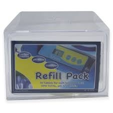 Refill pack Smart Test Cl/Brom/pH/TA/Cya.